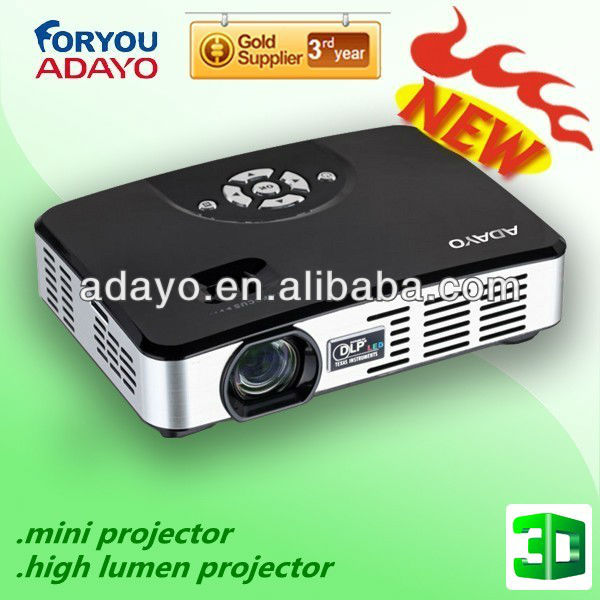 Professional video projector 1080p domestic cinema 3D LED proyector/projetor