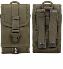 1000D Nylon Army Waist Bag Molle Cell phone Hook Loop Belt Pouch