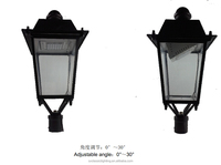 Chinese manufacturer CE&RoHS approved LED garden lamp garden lights with solar standing solar lamp for outside pole lights