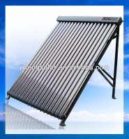 High Pressure Parabolic Trough Solar Collector Heat Pipe Vacuum Tube 20 Tubes Solar Thermal Panel