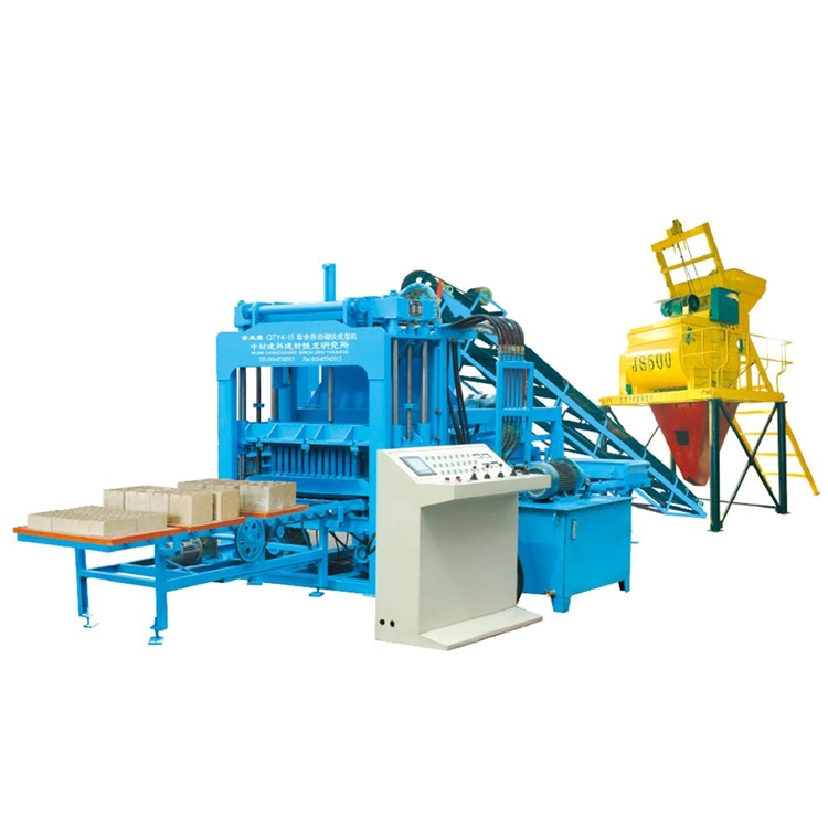 ZCJK QTY4-15 color paving brick making machie/interlock block making machine/auto brick production line