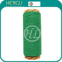 recycled dyed 65/35 polyester cotton yarn for knitting glove