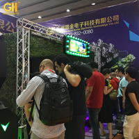 US IAAPA EXPOS Promotion Shooting Simulator Virtual Machine Indoor Shooting Game For Rifle