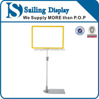 Retail floor standing advertising display stand for supermarket