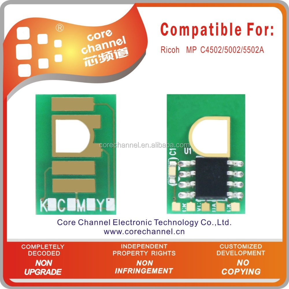 Compatible Toner Cartridge Chip for Ricoh MP C4502/5002/5502A