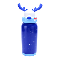 Milu thermos vacuum water bottle with cloth cover for sale