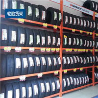Long span Customized Steel medium duty Storage Rack of automobile tire parts