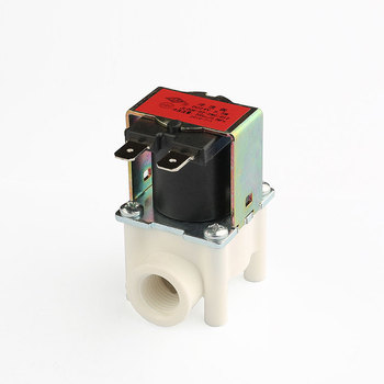 24vac 100v ac 220vac plastic small size fluid water solenoid valve watering system solenoid valve