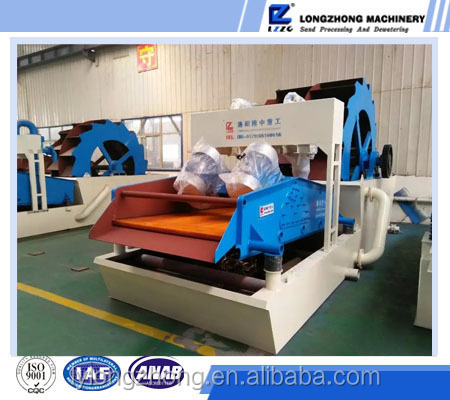 Well known and high efficiency 200t/h mini gold ore washing machine from China factory