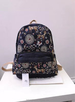 "14""Fashion Women Canvas School Bag Girl Cute Backpack Travel Rucksack Shoulder Bag"