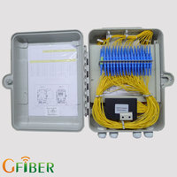 FTTH stainless steel smc cable termination junction box