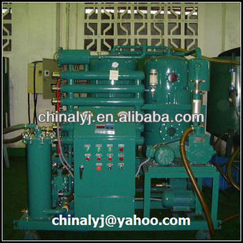 Waste Vacuum Insulating Oil Filtration Units