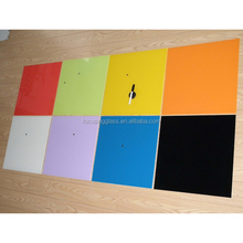 Candy color kids magnetic boards tempered glass writing board