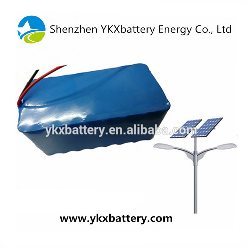 CE ROHS UL UE certificates Rechargeable LiFePO4 26650 4S12P 12v 40Ah li-ion battery for solar street light