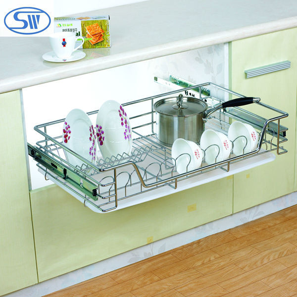 Guangzhou Factory Supply Kitchen cabinet design kitchen slide pull ...