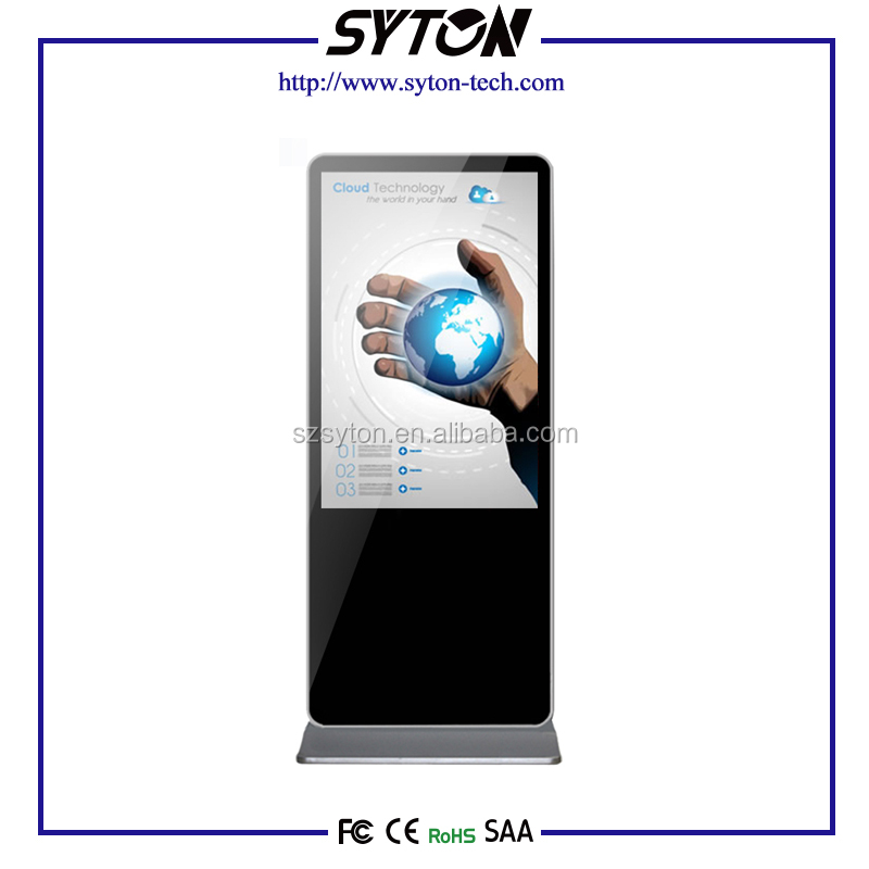 "Custom Kiosk Totem, 32"" 42"" 46"" 55"" Inch Floor Standing Android Wireless Wifi kiosk lcd panel"