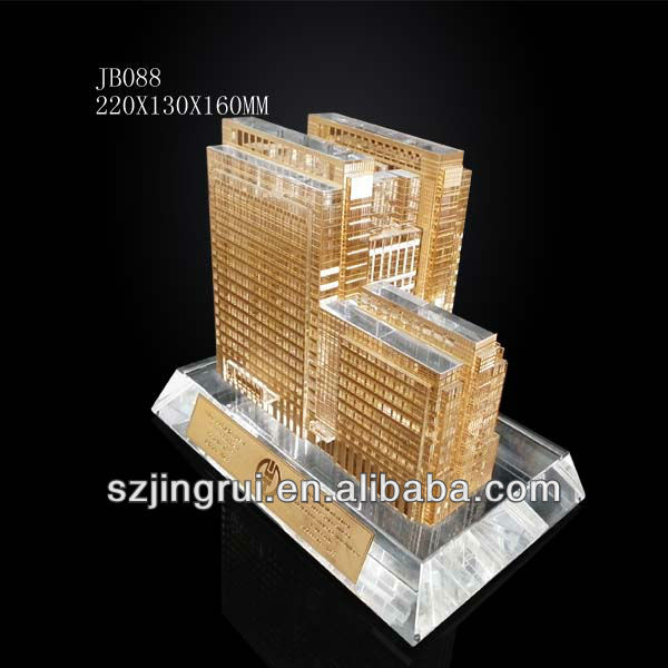 Agricultural Bank of China(ABC) Building Crystal Model