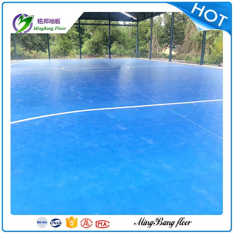 2017 Hot sales PP Plastic Interlocking Removable Basketball Court Sports Flooring