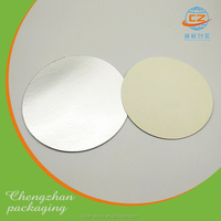 Aluminum cap liner induction bottle cap seal for foods and medicines