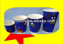 2013 disposable paper cup ripple cup with lids 4oz 8oz 12oz 16oz with lids