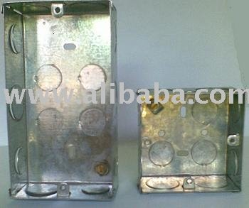 Pre Galvanised Switch & Socket Boxes OR G. I. Boxes