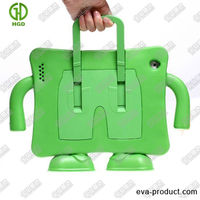 portable stand handle kidproof EVA foam tablet pc rubber case for ipad 2/3/4