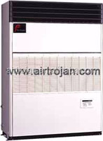 Air cooled packaged type floor standing direct free blow cooling and heating air conditioner capacity 53.1kW