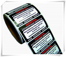 round self adhesive number stickers, barco