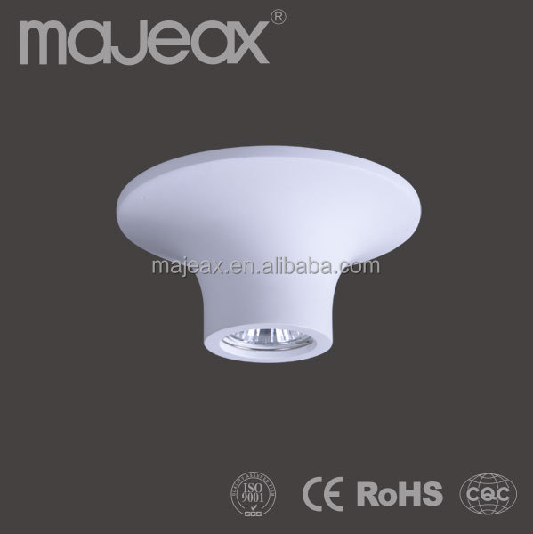 modern gypsum ceiling light fixture