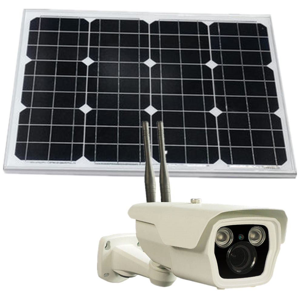wifi camera 1.3mp built in battery solar powered cctv camera outdoor securtity odm camera