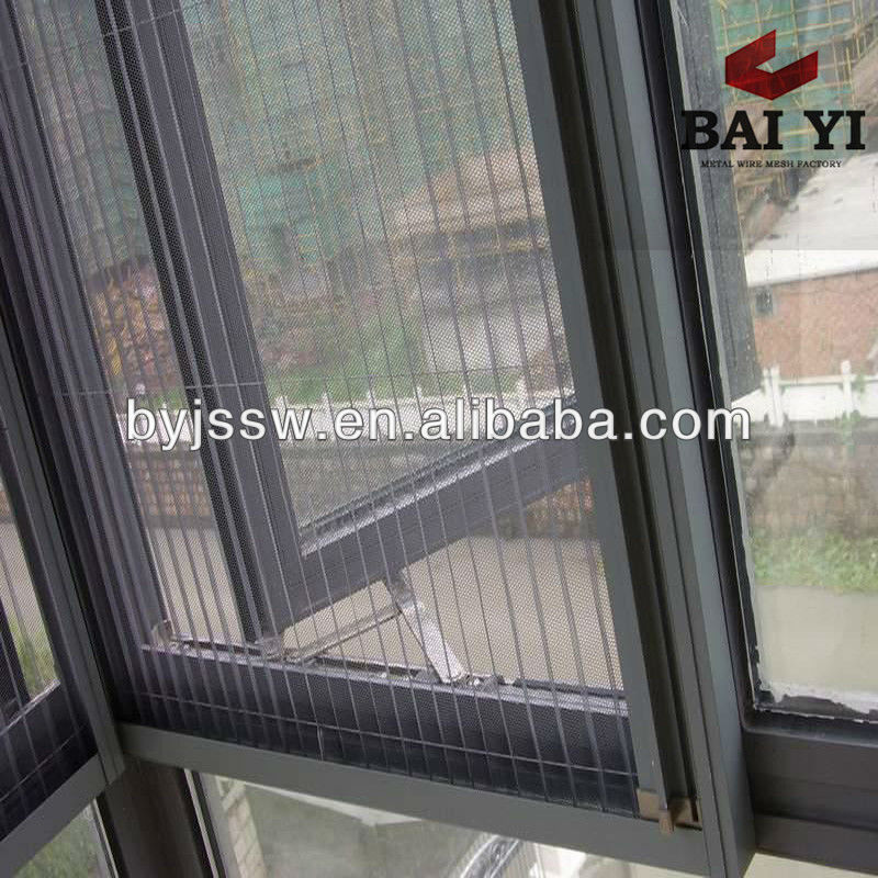 Easily Washing Window Screening