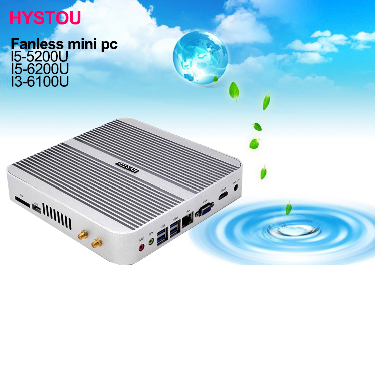 2016 best price mini pc i5 5200u win10 low power support 4k 3d gaming 16G RAM 500G HDD