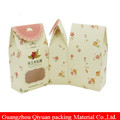 House Shape Custom Print Cheap Price Promotion Bakery Packaging Brown Color Accept Food Grade Paper Bag