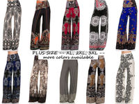 designer clothing bulk buy ladies pant palazzo boho hippie baggy pants