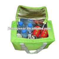 Fashion cooler bag with hard bottom for shopping and promotiom