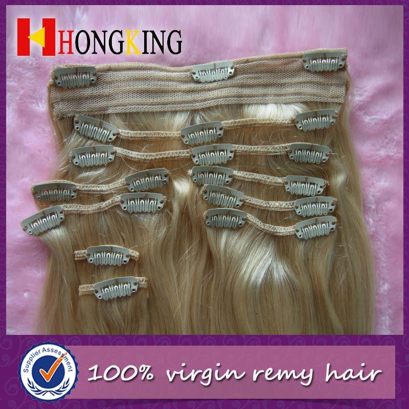 Clip In Remy Hair Extension Italian Curl with High Quality