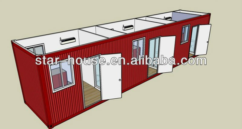 large scale container modular house