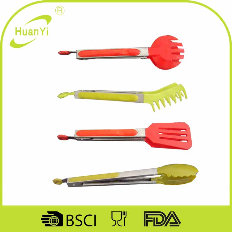 Kitchen Accessory Plastic Food Tongs