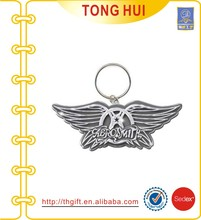 The wings metal keychains suppliers