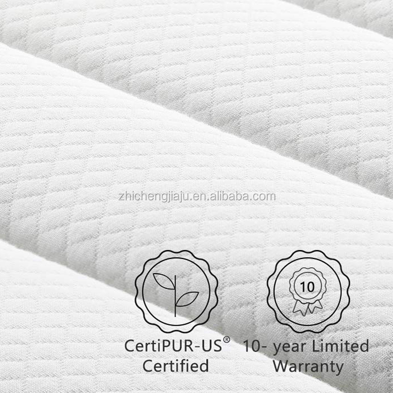 Living room 12 inch gel memory foam pocket spring hybrid mattress - Jozy Mattress | Jozy.net