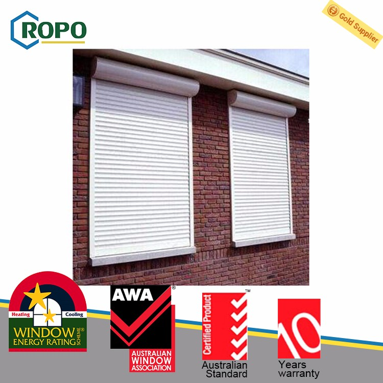 Proper price top quality double glass unique german window shutters