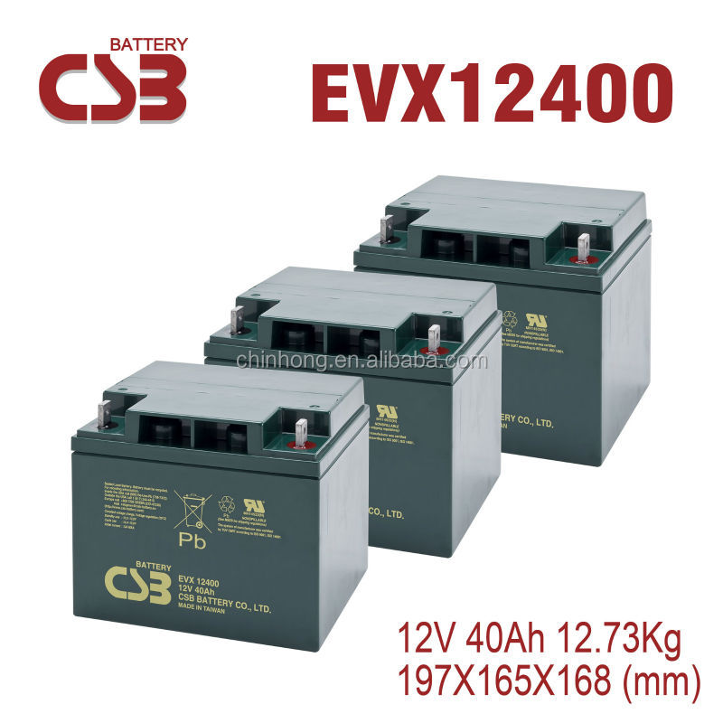 csb 12v 40A lead acid rechargeable storage battery automotive