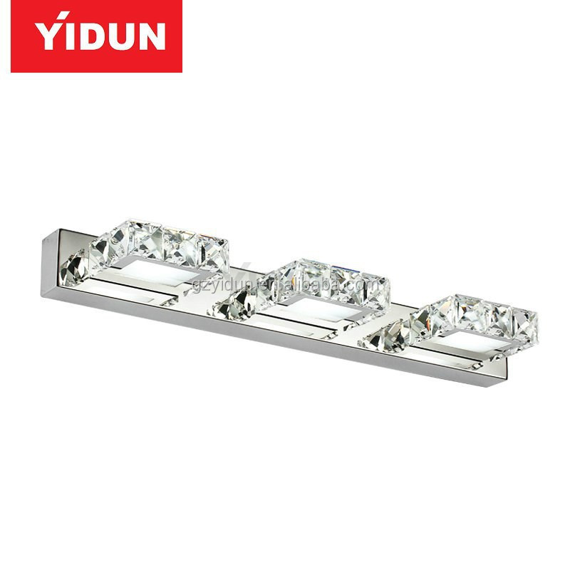 China manufacturer LED Light + LED bathroom mirror lights