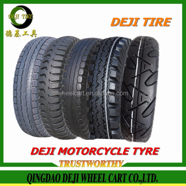 2016 DEJI/DURKEE/OEM brand high quality 5.00-10 three wheels motorcycle tires tubeless tire