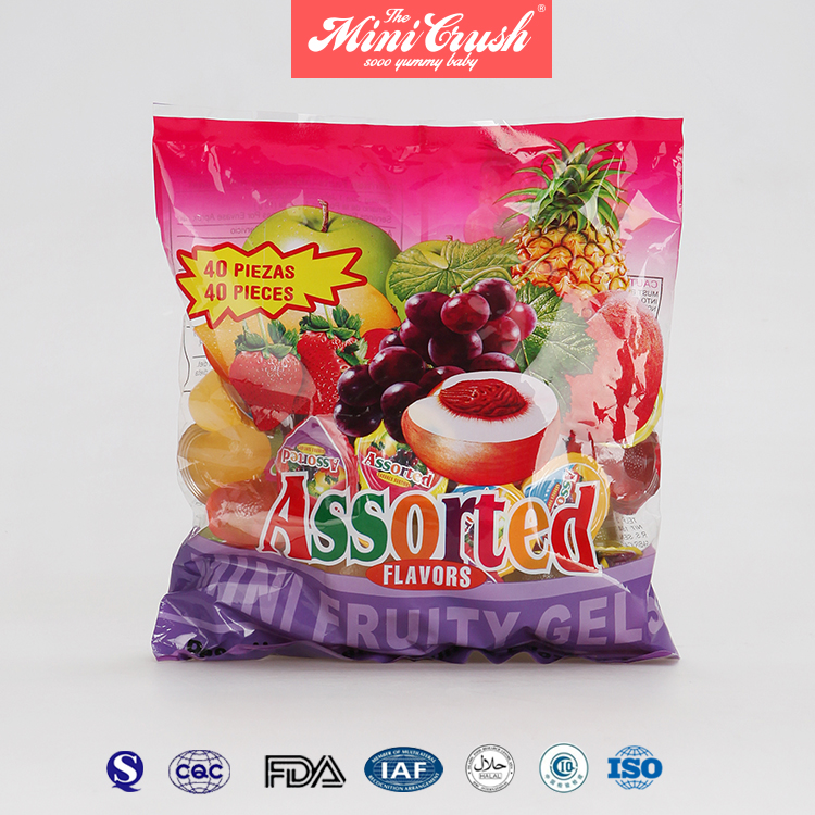 Hot Sell Mini Fruit Gelatina