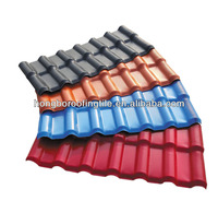 ASA coated synthetic resin roofing tile