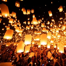 2015 small chinese sky lanterns wishing lamp
