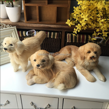 home stuffed toy accessories Imitate Toys accessories plush simulation dog