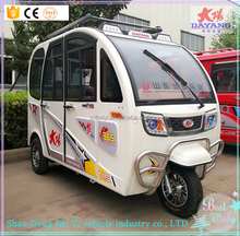 Low price tricycle closed 3 persons conversion for sale Electric tricycle