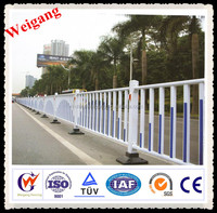 Fast installation galvanized road rail design
